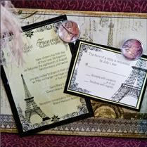 Alli's Studio, Corning, NY, Finger Lakes Region, NY, Wedding Invitations